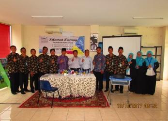 Akreditasi SMP Al-Fath BSD yang Pertama.