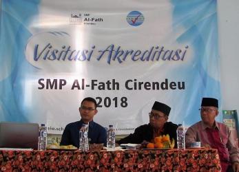 Akreditasi SMP Al-Fath Cirendeu 2018