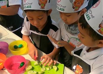 Cooking Competition TK Al-Fath Cirendeu @ veggie-week