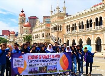 Edutrip SMP Al-Fath Cirendeu ke Kuala Lumpur