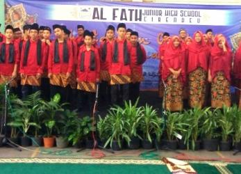 Khataman Surah Yasin Grade 9 SMP Al-Fath Cirendeu