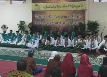 Khotmul Quran Surah Yasin Grade 9 SMP Al-Fath BSD