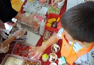 Kids Go to Kitchen TK Al-Fath