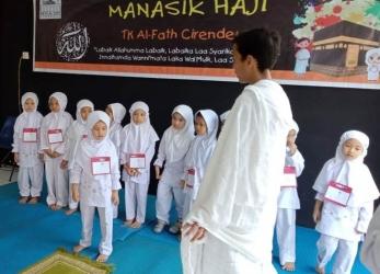Manasik Haji TK Al-Fath Cirendeu