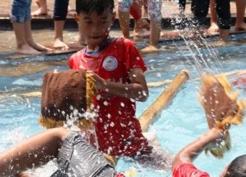Meriahnya Peringatan Hari Kemerdekaan di SMP-SD-TK Al-Fath Cirendeu-BSD