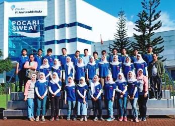 Siswa SMP Al-Fath Fieldtrip ke Pabrik Pocari Sweat