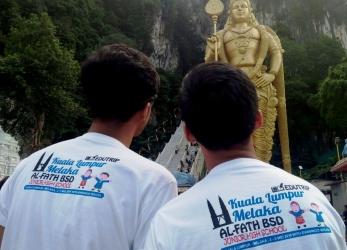 SMP Al-Fath Goes to Malaka-Malaysia